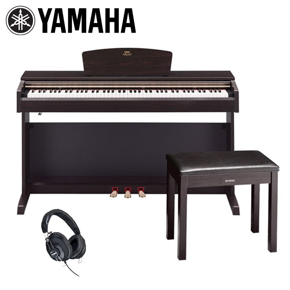 beautiful yamaha arius digital piano with bench