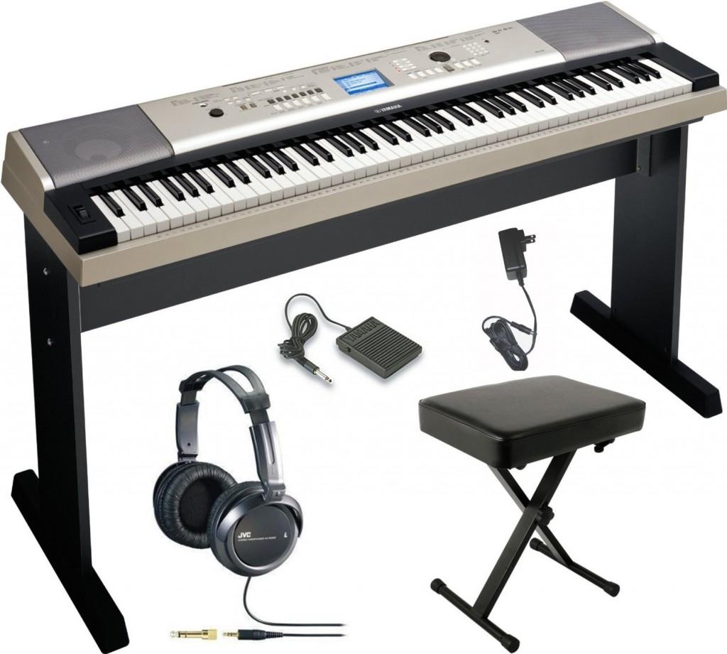 cheap yamaha piano bundle