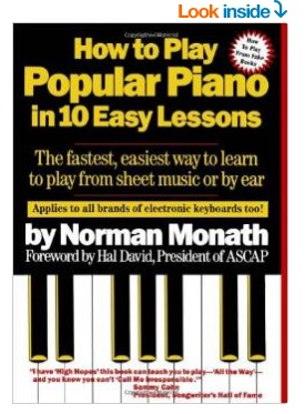 how to play popular piano book