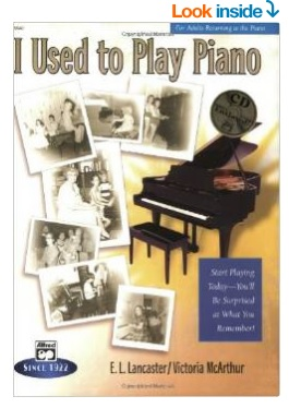 nice piano book for adult students who used to play the piano