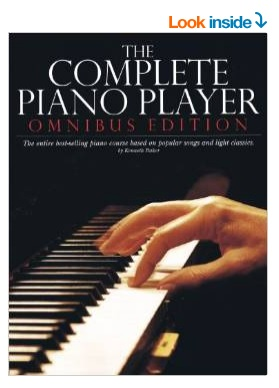 The Complete Piano Player Book for adult beginners