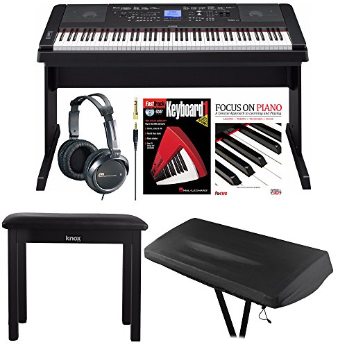 Yamaha 88 Weighted Keys Digital Piano Bundle