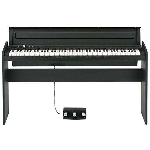 Stylish Korg 88 Key Piano Black