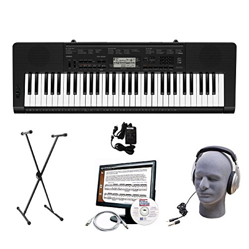 Casio CTK-3200 61-Key Portable Premium Keyboard Package