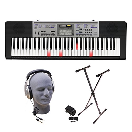 61-Key Lighted Key Keyboard Pack with Headphones